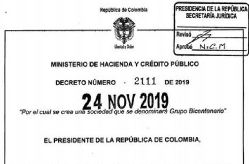 DUQUE YA FIRMÓ EL PAQUETAZO FINANCIERO: