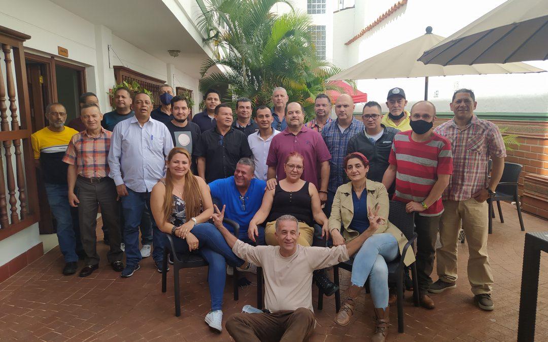 Clausura del curso básico sindical Sintraemsdes, subdirectiva Medellín.